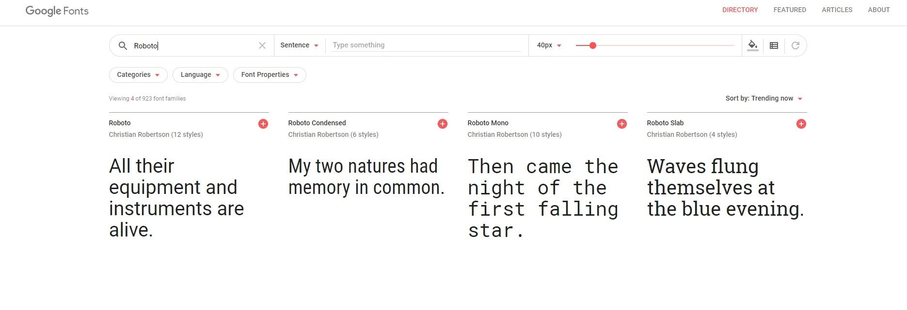 Google Fonts. Шрифты для сайта как подключить.